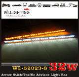 36インチのこはく色のトラックの矢の棒のライトバー/トラフィックの顧問ライト