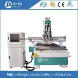 3つのヘッド販売のための自動ツールの変更CNCのルーター機械