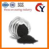 Nero di carbonio organico della lignite polveroso
