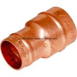 Presione el anillo de soldadura de cobre Racores de acoplador de reducción de 22mm 15mm
