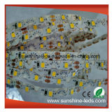 SMD2835 6mm Warme Witte LEIDENE Bendable van PCB DC12V Flex Strook