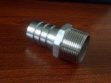 Raccord de boyau de l'acier inoxydable 1.4408 du bâti