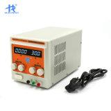 HAIRUI 30V 5A 4 Dígitos Fonte de alimentação DC ajustável com ventilador de controle inteligente da temperatura
