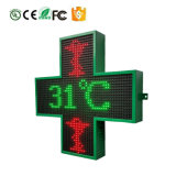 Visualizzazione del segno della traversa della farmacia della visualizzazione LED della traversa del segno LED della visualizzazione della traversa del LED per l'ospedale della farmacia della chiesa