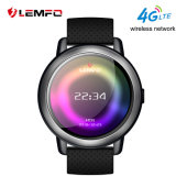 Laatst Androïde Lemfo Lem8 en Ios 4G Lte Smartwatch met IP67 Waterdichte en Grote Opslag 2g+16g