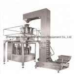 Sac Premade 5-1000g fèves de café Machine d'emballage des collations à l'emballage