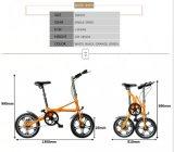 접히는 자전거 Yz-6-16 소형 자전거를 접히는 1 초