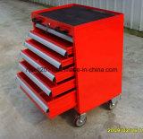 Стальной инструмент шкаф с выдвижной ящик и держатель