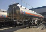 タンカー40000リットルのアルミ合金の燃料の40000 L半ステンレス鋼のトラックのトレーラー
