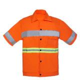 Uniformi riflettenti del lavoro con nastro adesivo riflettente