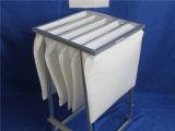쐐기로 고정하 모양 최신 녹는 합성섬유 부대 필터