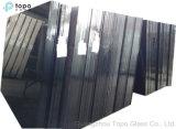 """vetro """"float"""" nero colorato 4mm-10mm per le decorazioni della Camera (CB)"""