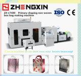 La tela no tejida respetuosa del medio ambiente recicla el bolso que hace la máquina (ZX-LT400)