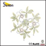 Lampada decorativa del soffitto di vendita della Cina del foglio superiore di verde