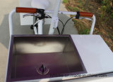 Geschleppte Gefriermaschine-/Ice-Sahnekarre mit Regen-Deckel