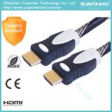 Cavo di nylon di Ethernet 1.4V HDMI di sostegno 3D della treccia