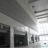Teto feito-à-medida do painel contínuo de alumínio com projeto da forma