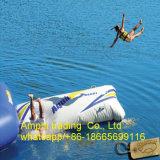 2016 het Hete Verkopende ReuzeHoofdkussen van de Sprong van de Vlek van de Katapult van het Water van het Meer Opblaasbare/het Springen van het Water Zak