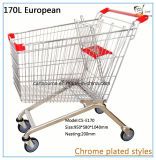 Panier d'achat de style européen 170L