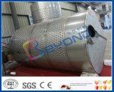 tanque de mistura inoxidável do tanque de aço de tanque de armazenamento do leite