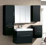 Module de salle de bains de vente chaud de forces de défense principale avec le Module latéral de la vanité trois et du miroir