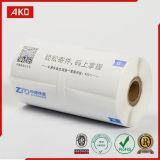 Rodillo impreso del papel termal