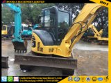 Usadas Komatsu PC55MR-2 de la excavadora sobre orugas de la PC55MR-2 Mini Excavadora en venta