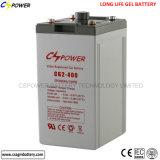 Batería profunda del gel del ciclo del panel solar para el almacenaje 2V1000ah de la potencia