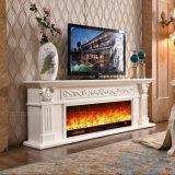 백색 조각품 유럽 난방 전기 벽난로 호텔 가구 (321S)