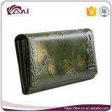Бумажник женщин типа краткости бумажника кожи конструкции бабочки способа самый лучший на лето