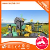 Campo de jogos ao ar livre do equipamento da casa da corrediça do jogo dos miúdos da série do moinho de vento para a venda