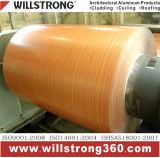 De houten Rol van het Aluminium van het Patroon met de Deklaag van het Huisdier