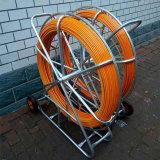 Fil de fibre de verre tirant Rod, conduit Rodder de fibre de verre pour tirer le câble