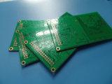 緑のSoldermaskの液浸の金PCB 8の層Fr4