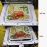 Máquina automática del sello de la caja de los alimentos de preparación rápida,