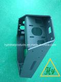 Kundenspezifische Blech-Herstellungs-Teile/verbiegende Teile mit schwarzer Beschichtung
