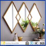 Silberner überzogener Form-Entwurfs-Badezimmer-Spiegel