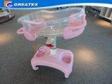 Greppie automatiche del bambino dell'oggetto d'antiquariato della greppia del bambino dell'oscillazione della greppia di plastica del bambino