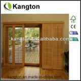 Porte en bois Bi-Fold d'obturateur (porte d'auvent)