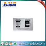 카드를 막는 RFID 신용 카드 차단제 신호 LED