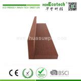 Revestimento sintético plástico de madeira da instalação fácil