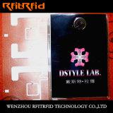 전체적인 알루미늄 에칭 RFID 의류 RFID 스티커