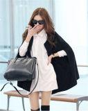 Плащ плащи-накидк куртки плащпалаты шерстей зимы новых женщин способа теплый