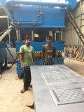 Double plaque de porte d'action de Dhp gravant la machine en relief de presse hydraulique