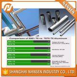 1050 3003 6061 6063 7075 7005 Tubes sans soudure en tube d'aluminium en alliage