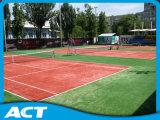 Relvado sintético para o gramado Sf13W6 do relvado da grama do tênis
