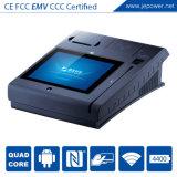 Dispositivos do pagamento eletrônico da posição do leitor de cartões magnéticos RFID do crédito CI com impressora