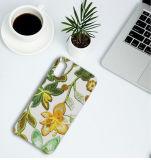 Caixa nova do telefone do projeto das flores do bordado 3D para o iPhone X