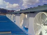 Ventilateur d'extraction fourni par service chaud de volaille de fibre de verre de ventes