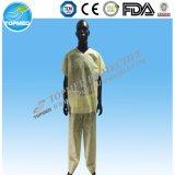 Dunkles Bulewith heraus Sleeve, geduldiges Kleid/scheuern Klagen/Krankenhaus-Kleidungs-Gleichheit an